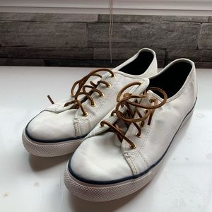 Sperry White Top Sider